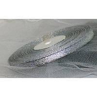Лента парча 902 серебро 7 мм