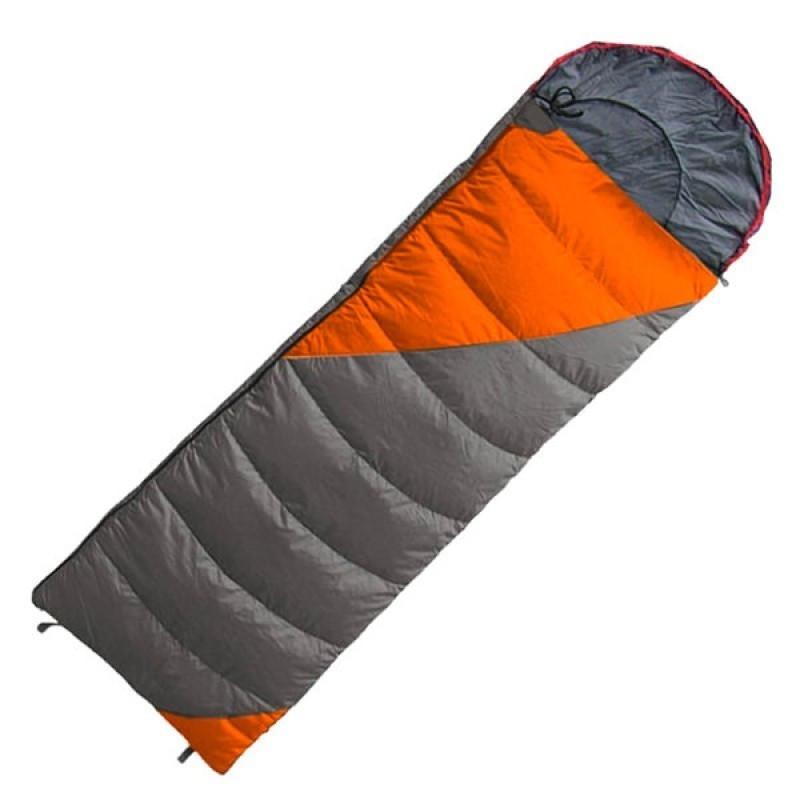 Спальный мешок Tramp Fluff TRS-037-L (Оранжевый/серый) L