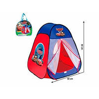 Детская палатка домик 811 в сумочке тачки