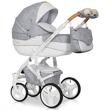 Детская коляска 2 в 1 Riko Brano Luxe 05 Grey Fox