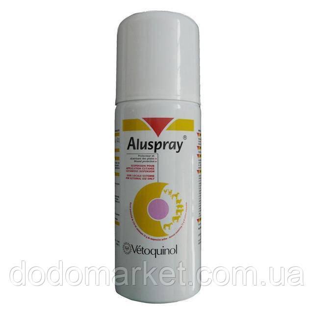 Алюспрей (Aluspray) - спрей для обработки ран 127 мл Vetoquinol