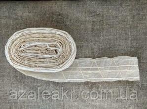 Фиброузная оболонка 50 мм з сіткою 2метра