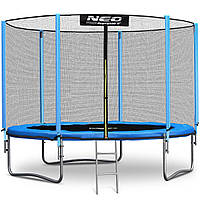 Батут Neo-Sport 10ft/312cm с внешней сеткой + лестница (9007)