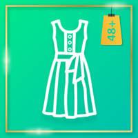 Платья 48 +