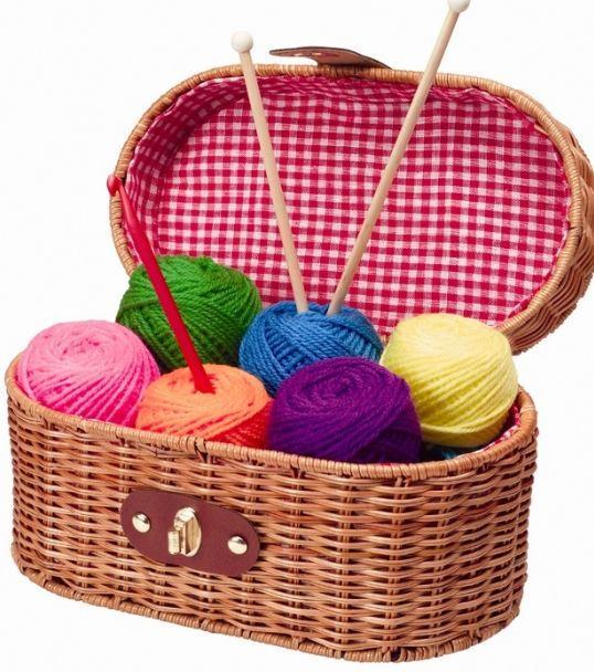 Пряжа для ручного вязания.