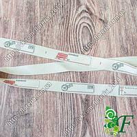 Лента Hand made Х/Б 1,5 см_Марки_3 метра