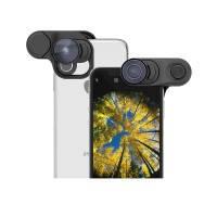 Объектив Olloclip Fisheye + Super-Wide + Macro Essential Lenses для iPhone XS Max