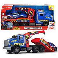 Эвакуатор с воздушной помпой и легковым авто Dickie Toys (3749010)