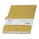 Записная книжка Appeel А5, цвет Золотой / su 14023740, фото 3