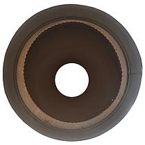 Труба-сэндвич дымоходная D-350/420 мм S-1 мм L-1 метр AISI 321 нержавейка/оцинковка - «Stalar», фото 3