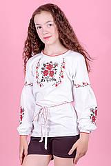 """Вышиванка для девочек   """"Розы"""""""