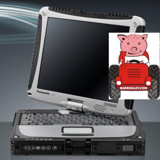 CF-19 MK7 Защищенный ноутбук Panasonic Toughbook CF-19 MK7 i5 8ГБ 240ГБ SSD GPS 3G Dual Touch