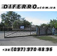 Ворота откатные промышленные