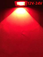Светодиодный линзованый прожектор SL-IC10Lens 10W 12-24V DC красный IP65 Код.59310