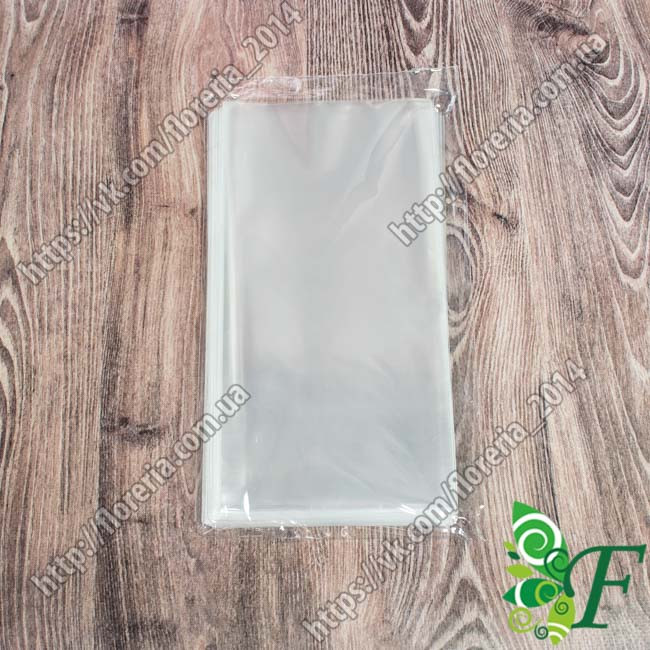 Пакетик упаковочный прозрачный за 100 шт