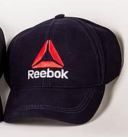 Кепка бейсболка Reebok мужская стильная качественная летняя, цвет темно-синий, фото 1