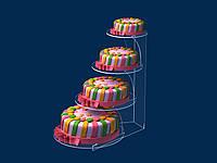Підставка для торта багатоярусна, фото 1