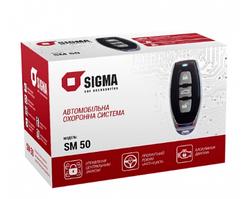 Автосигнализация сигнализация односторонняя автомобильная охранная система Sigma SM50