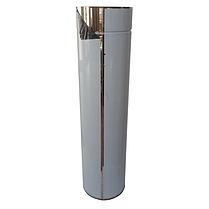 Труба-сэндвич дымоходная D-160/220 мм S-1 мм L-1 метр AISI 321 нержавейка/нержавейка - «Stalar», фото 2