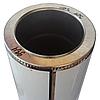 Труба-сэндвич дымоходная D-160/220 мм S-1 мм L-1 метр AISI 321 нержавейка/нержавейка - «Stalar», фото 3