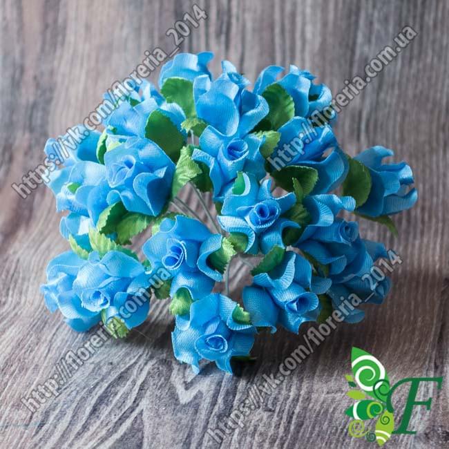 Букетик роз Нобилис голубой