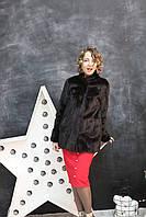 Шуба норковая, пиджаком со стойкой, классика.  Модель 2020197564, фото 1