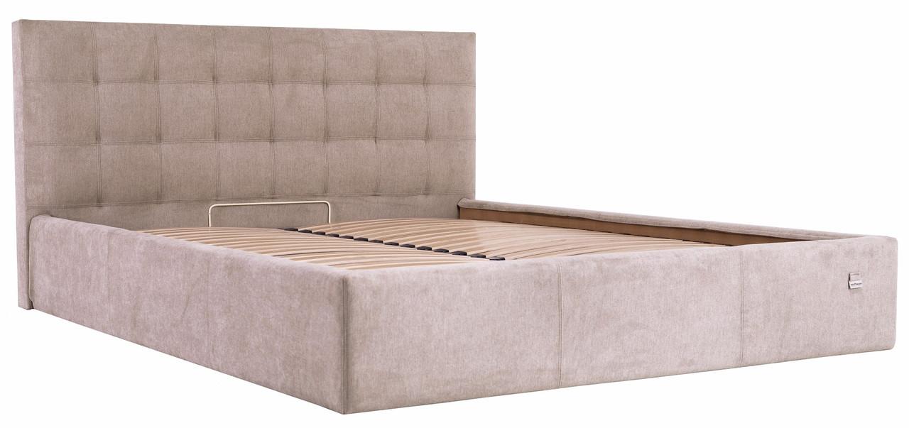 """Двоспальне ліжко """"Честер"""" з підйомним механізмом (без матраца) ТМ Richman"""