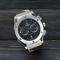 Часы наручные Hublot Classic Fusion AA Military-Silver-Black