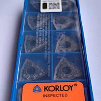 WNMG 080408-HA PC9030 Korloy Original Пластина твердосплавная