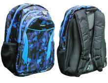 Рюкзак ортопедичний, синій з чорним, L, 46*30*15 см,982187  Leader
