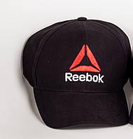 Кепка бейсболка Reebok мужская стильная качественная летняя, черная