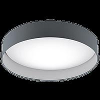 """Світильник стельовий  Eglo 93397 1х24W LED білий/антрацит """"Паломаро"""""""