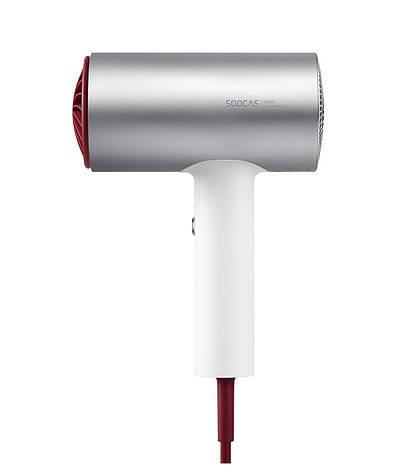Фен Xiaomi Soocas H3S Electric Hair Dryer Алюминий Белый / Серебристый, фото 2