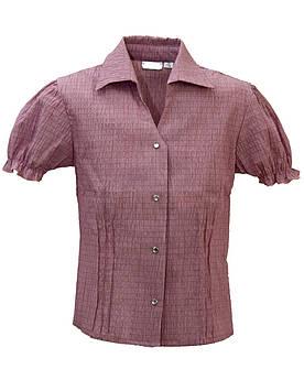 Блуза для девочки с коротким рукавом  Размер 122