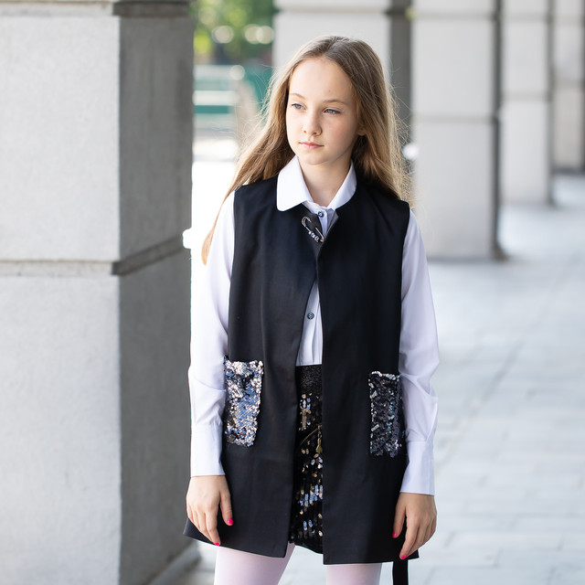 Школьные пиджаки, кардиганы для девочек