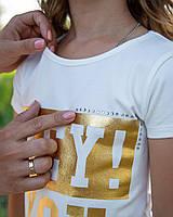 Модные футболки для девочек