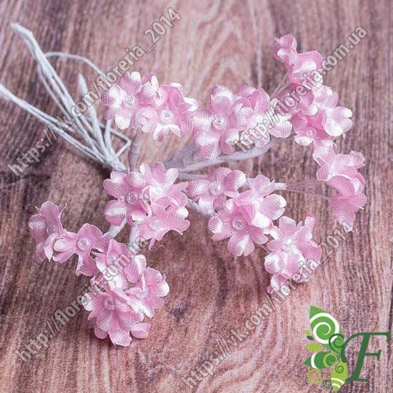 Букетик Мимозы розовый