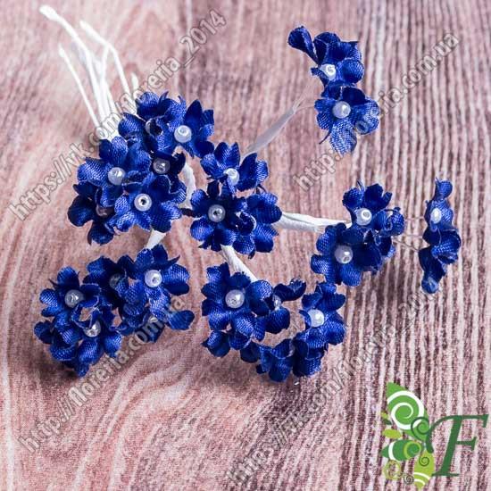 Букетик Мимозы синий