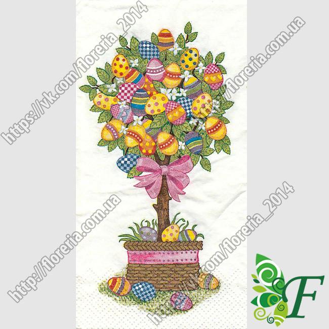 Салфетка Пасхальное дерево