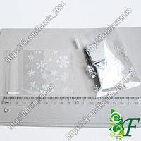 Пакетик упаковочный мини_снежинка_10 шт.