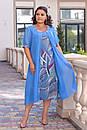 Платья женское масло-шифон 56-62 размер , фото 3