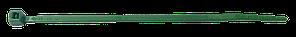 Стяжка кабельная зеленая 140х3.5 ELEMATIC (100 шт/уп)