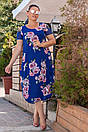 Платья женское креп шифон  50-56 размер , фото 2