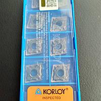 CNMG 120408-HA PC9030 Korloy Original пластина твердосплавная