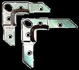 Kуток монтажний фланцевий S20 (75x19x2.5)
