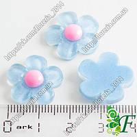 Серединка цветок голубой