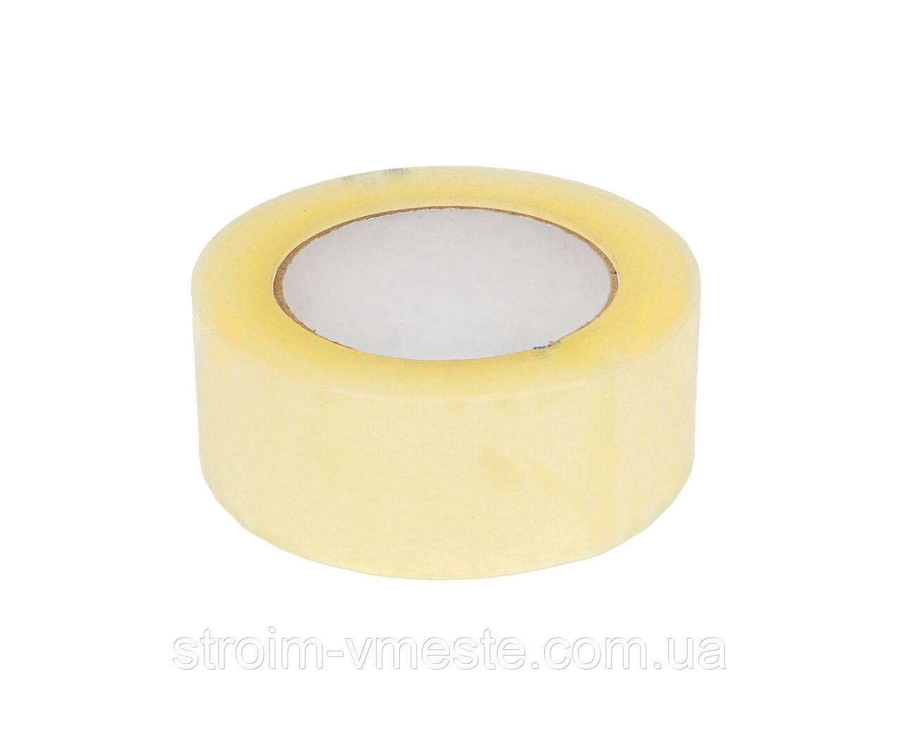 Скотч упаковочный прозрачный Украина 45 мм х 100 м