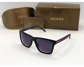Мужские солнцезащитные очки в стиле Gucci (449) blue
