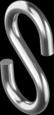 Крюк S-образный 4 мм (100 шт/уп)