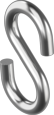 Крюк S-образный 6 мм (100 шт/уп)